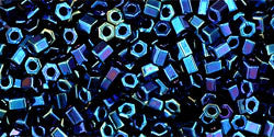11/o Hex Seed Bead Metallic Nebula - Beads Gone Wild