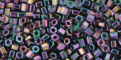 11/o Hex Seed Bead Metallic Iris Purple - Beads Gone Wild