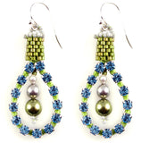 Urban Sheek Earrings Bead Weaving Kit - Beads Gone Wild  - 1