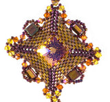 Victoria Pendant Bead Weaving Kit by Edgar Lopez