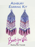 Ashbury Earring Bead Weaving Kit