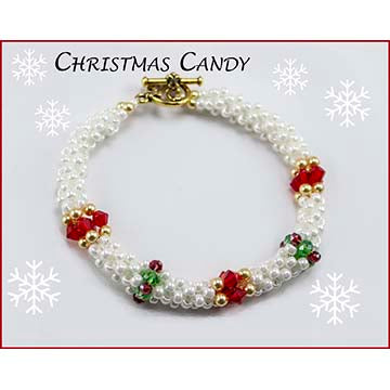 Christmas Candy Bracelet Kit