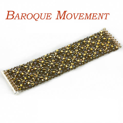 Baroque Movement Bracelet Bead Weaving Kit