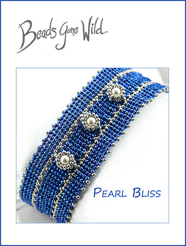 Pearl Bliss Bead Weaving Bracelet Kit
