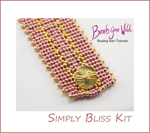 Simply Bliss Bracelet Bead Weaving Kit