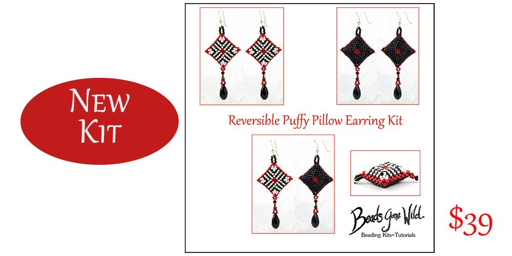 new kit reversable earrings