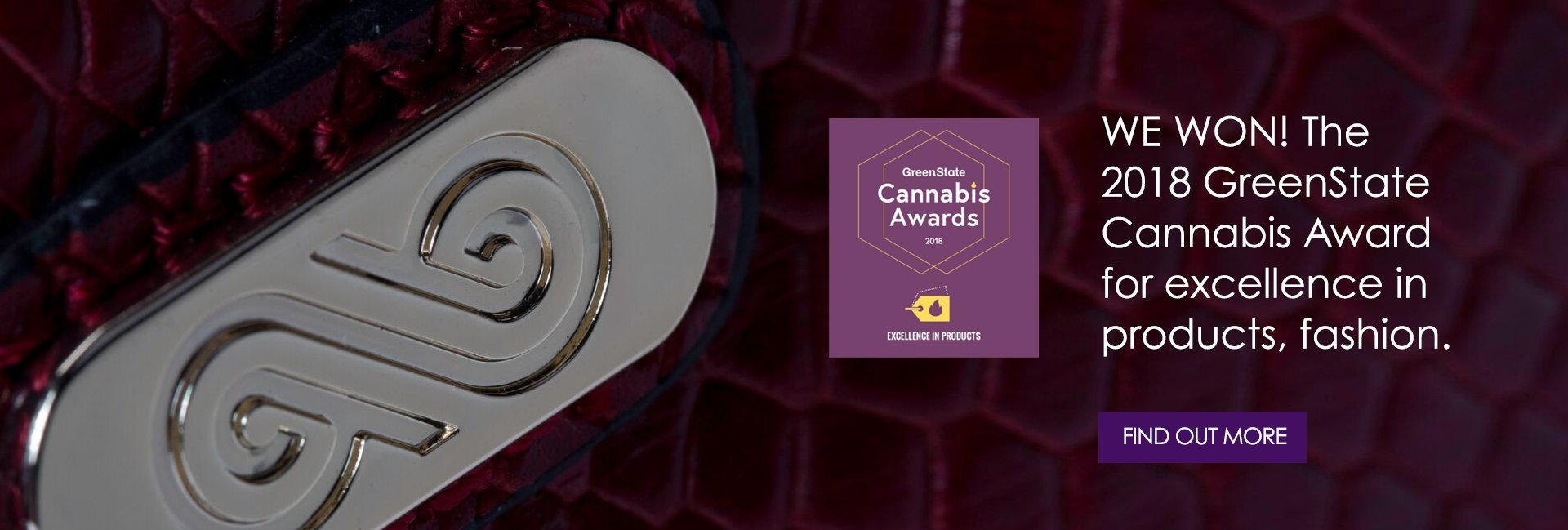 AnnaBis Odor Proof Bag- a smell proof purse for the