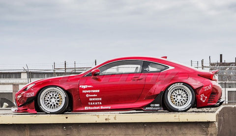 Greddy TRA Kyoto Designed Rocket Bunny Wide-body Aero Kit Lexus RC350