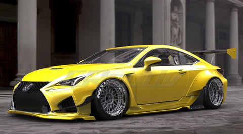 Greddy TRA Kyoto Designed Rocket Bunny Wide-body Aero Kit Lexus RCF