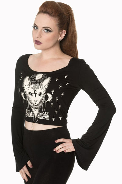 9 Lives Jersey Top-Banned-Dark Fashion Clothing