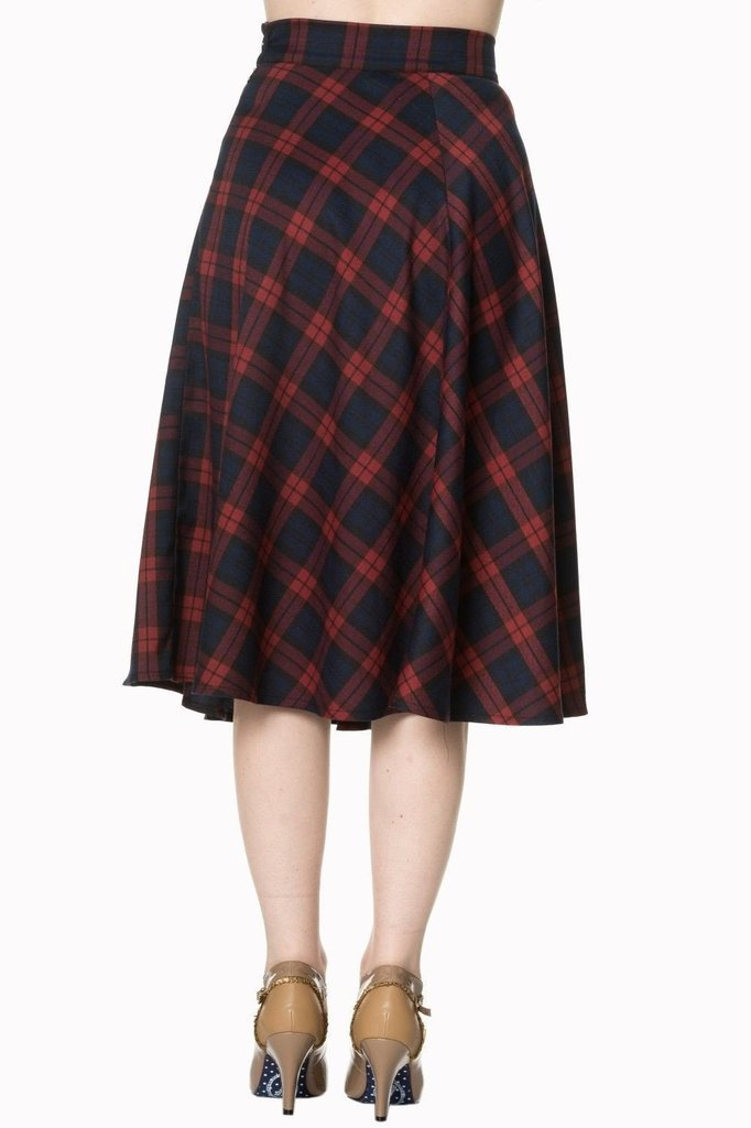 Apple Of My Eye Skirt-Banned-Dark Fashion Clothing