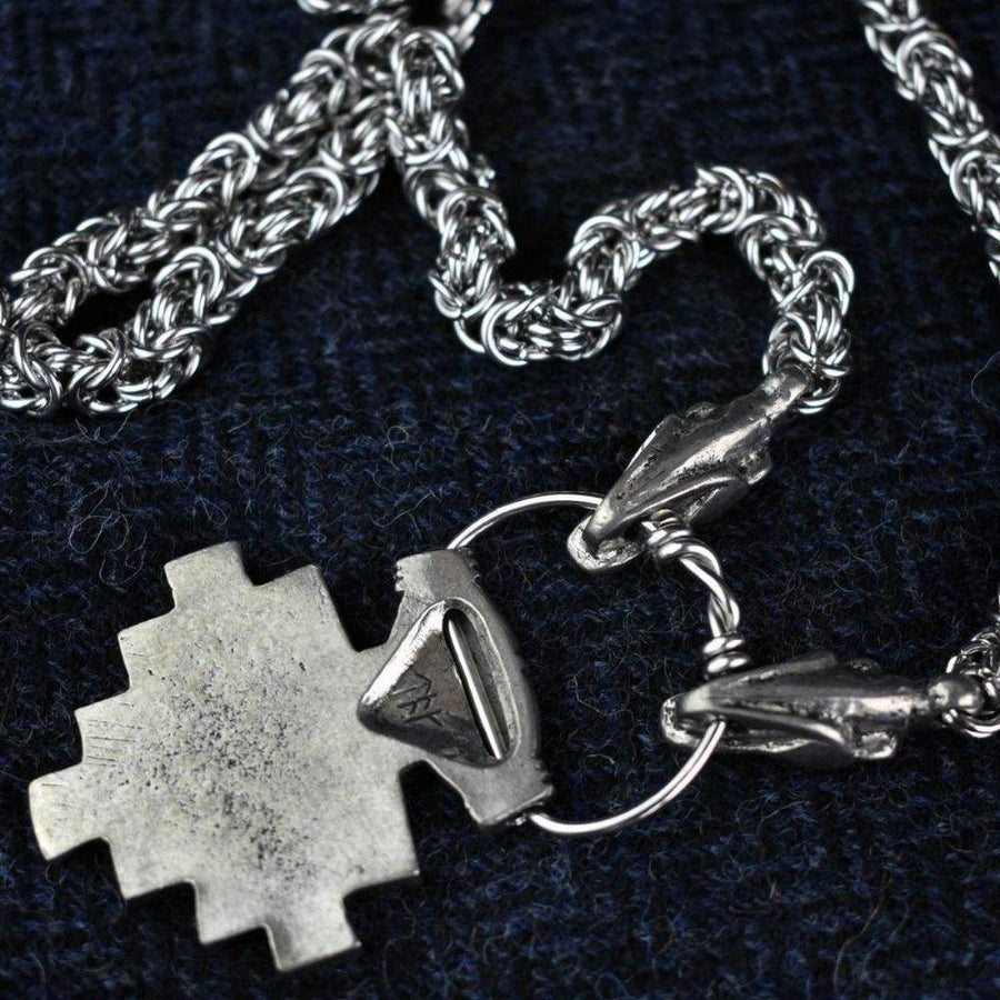 Asgard Hiddensee Pendant on Dragon Chain