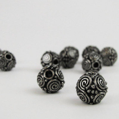 Asgard Spiral Granulated Bead-Asgard-Dark Fashion Clothing