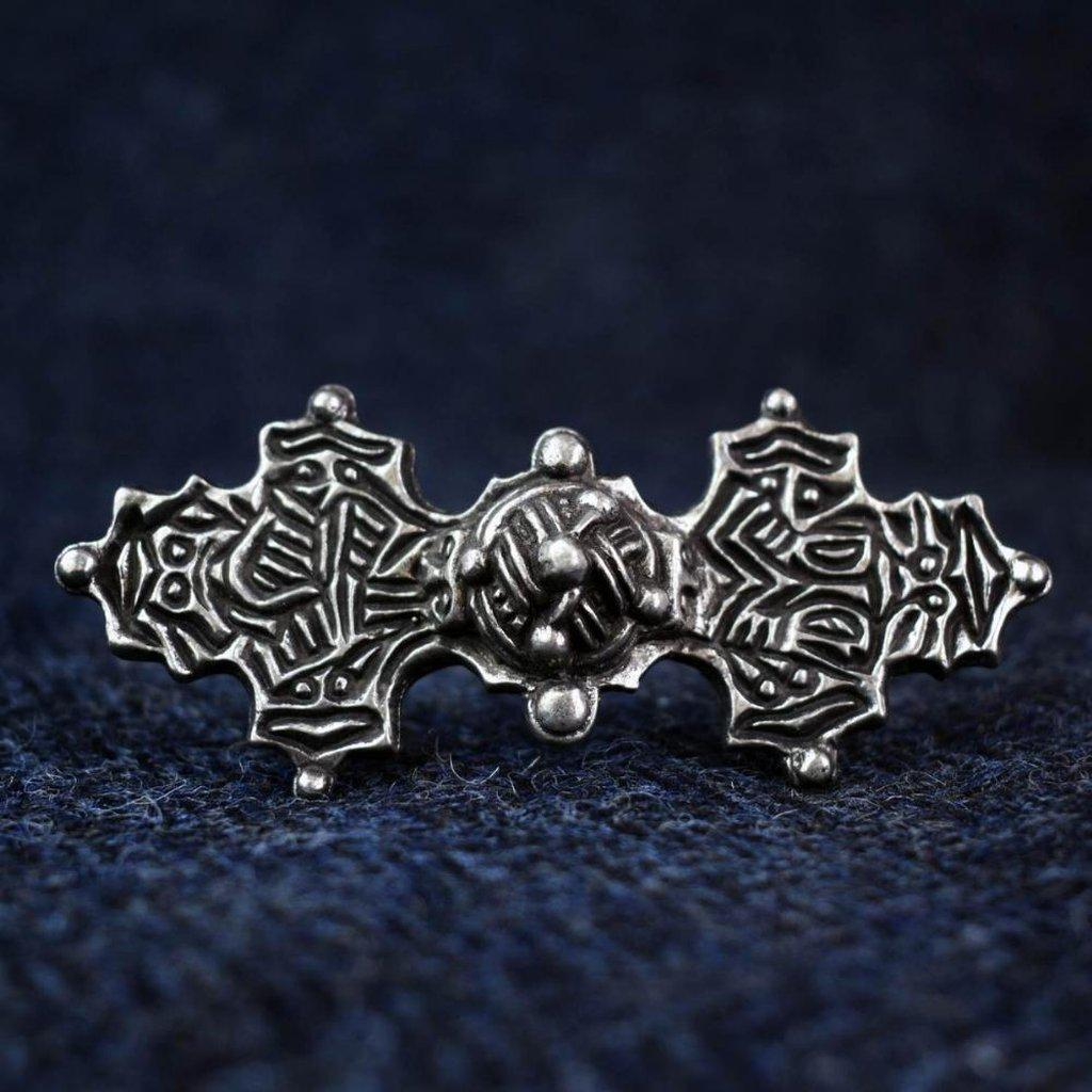 Asgard Viking Equal Armed Brooch-Asgard-Dark Fashion Clothing
