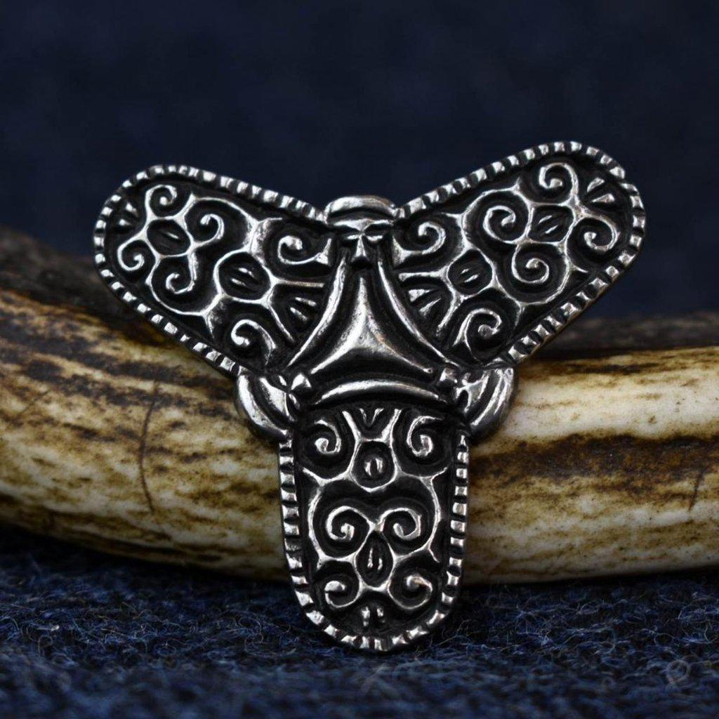 Asgard Viking Trefoil Brooch-Asgard-Dark Fashion Clothing