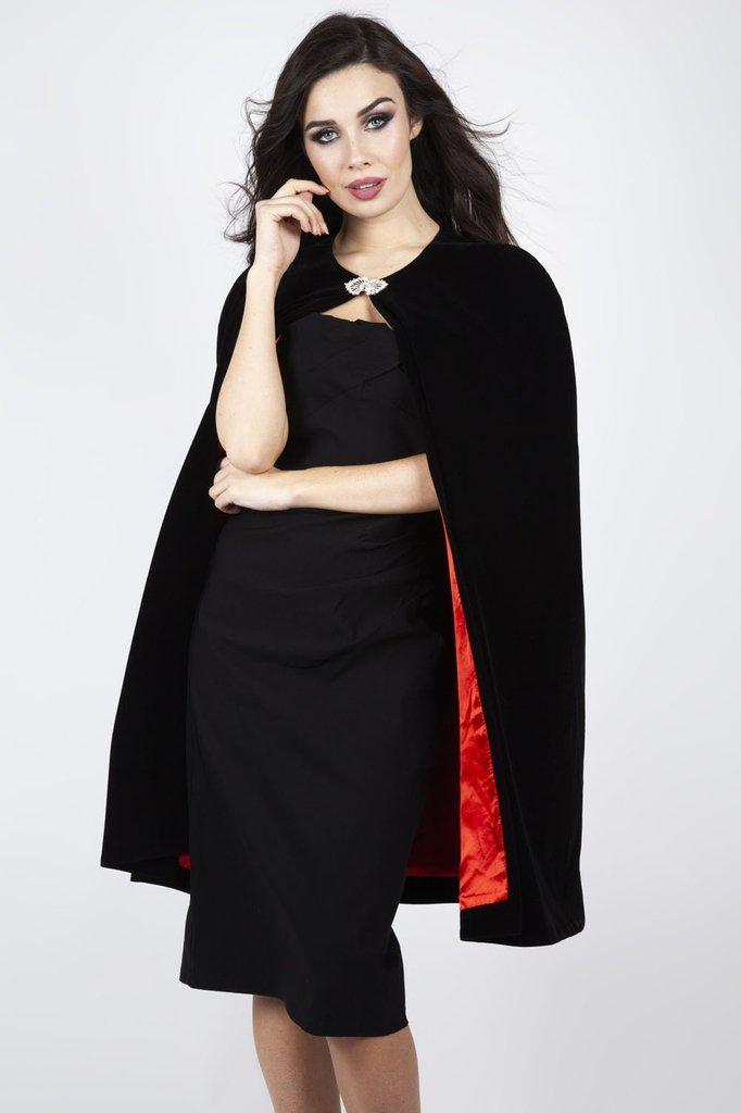 Cameron Vamp Cape-Voodoo Vixen-Dark Fashion Clothing