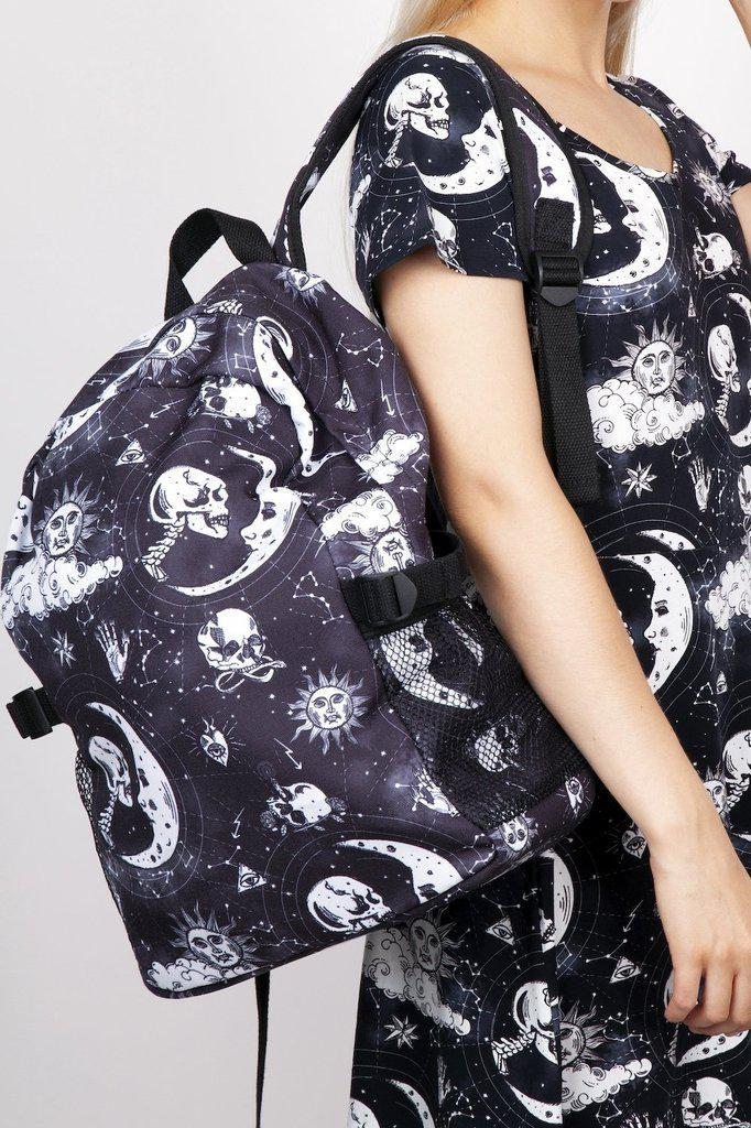 Canvas Moonstone Backpack-Jawbreaker-Dark Fashion Clothing