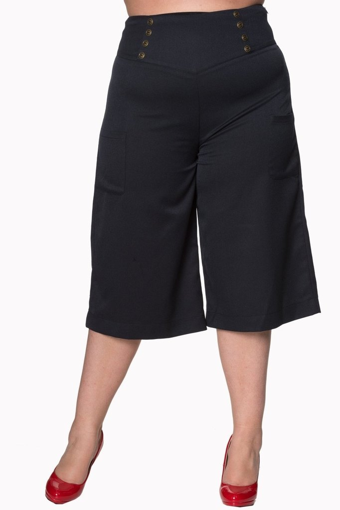 db0b49aabe4aa Cecile Plus Size Trousers-Banned-Dark Fashion Clothing
