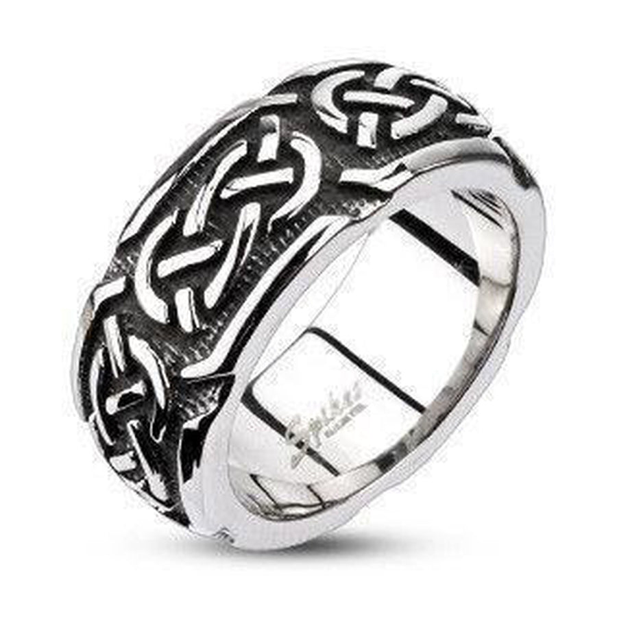 Celtic Knot Ring Stainless Steel