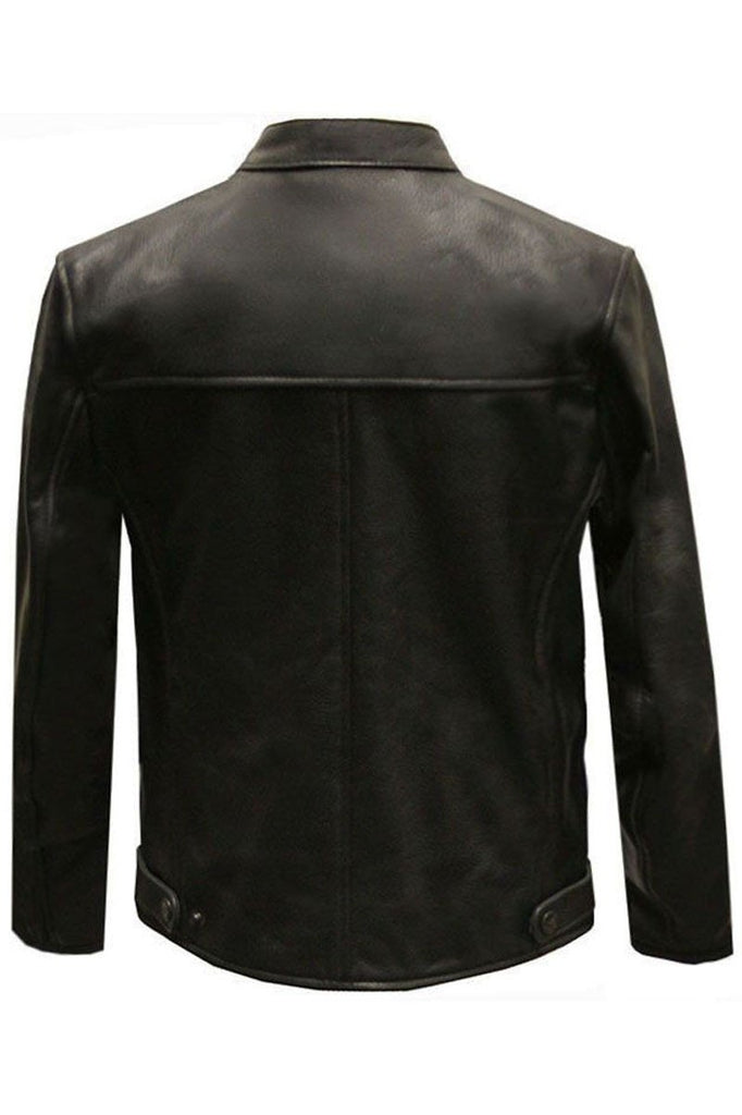 Childrens Trojan Motorcycle Jacket-Skintan Leather-Dark Fashion Clothing