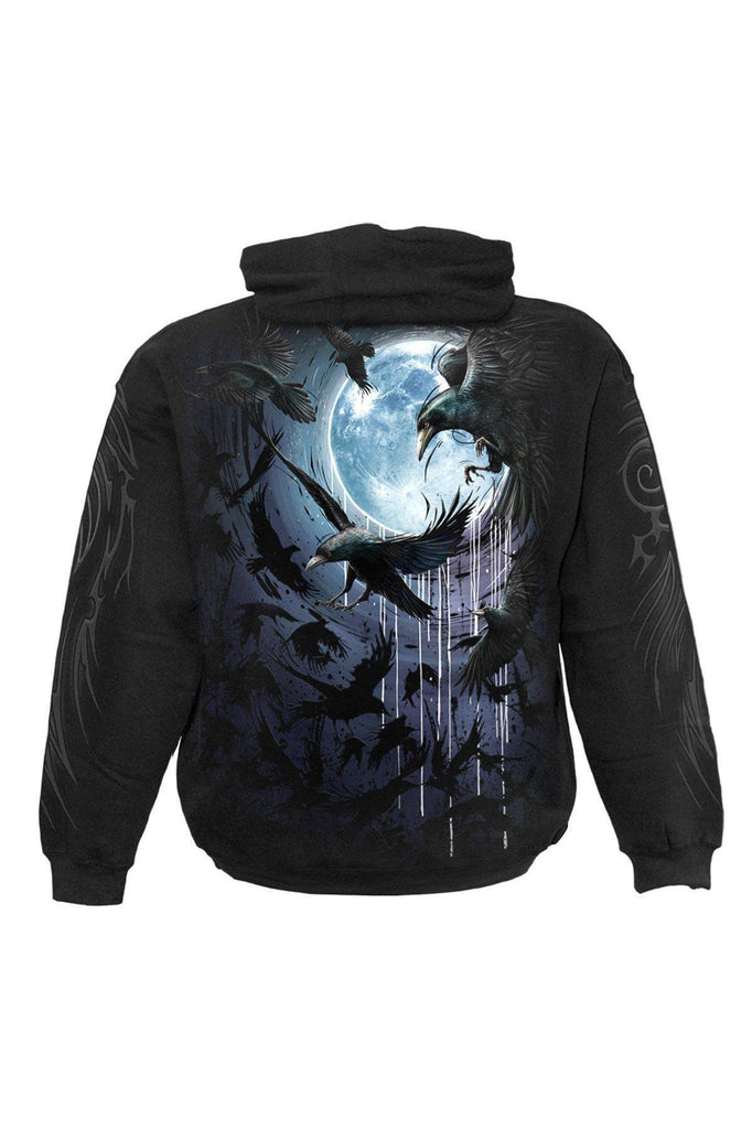 Crow Moon - Hoody Black