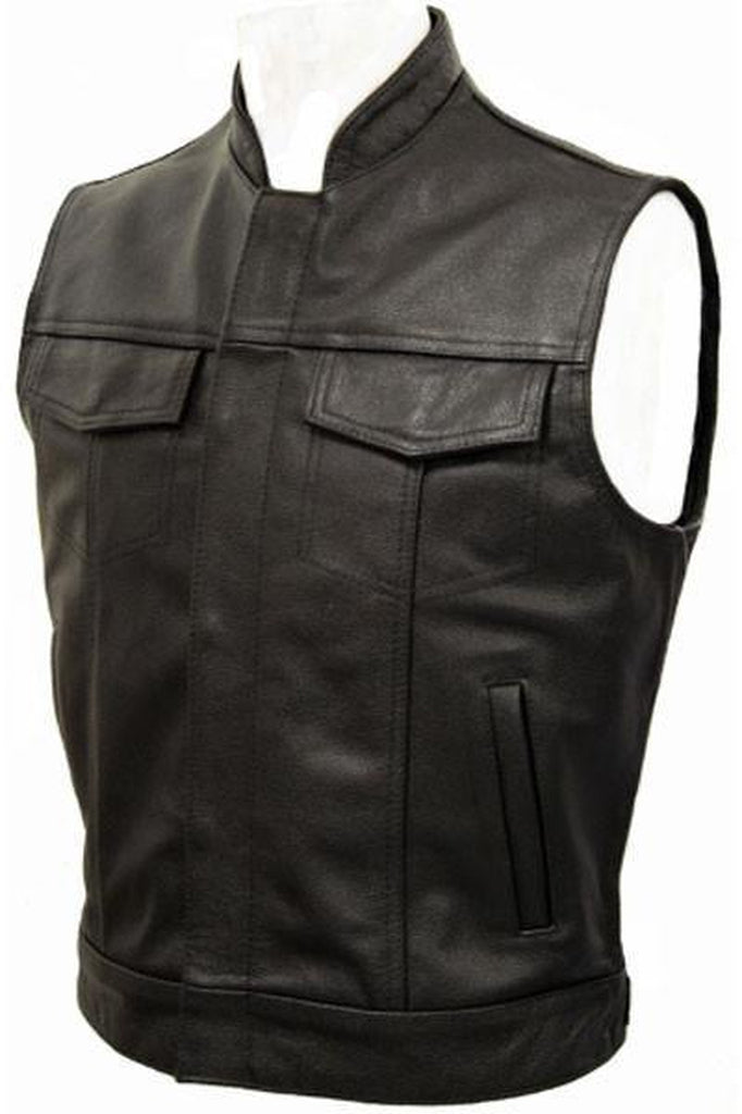 Cut-Off Outlaw Biker Vest - Jax