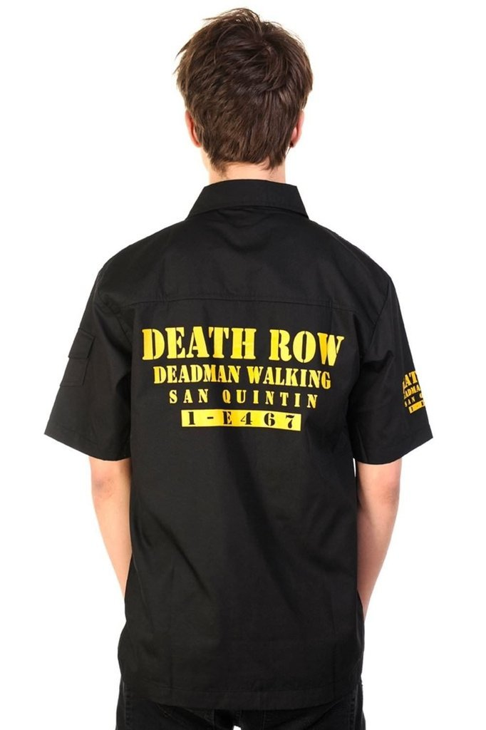 Deathrow Shirt-Banned-Dark Fashion Clothing