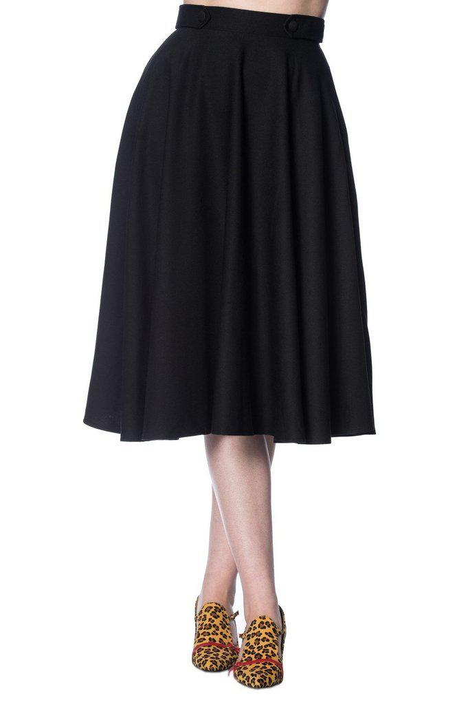 Di Di Swing Skirt-Banned-Dark Fashion Clothing