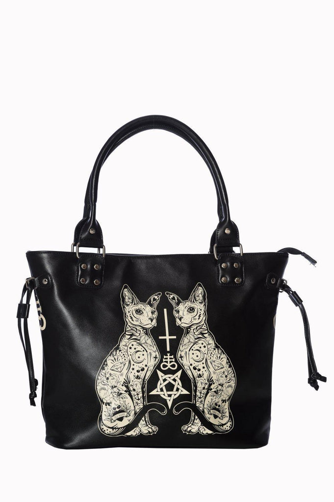 Esoteric Cat Bag-Banned-Dark Fashion Clothing
