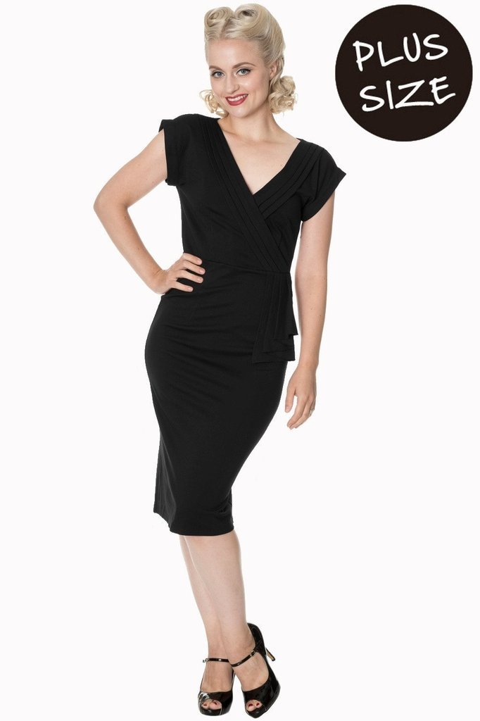 44150a674a8 Banned Evening Chic Plus Size Dress - Dark Fashion Clothing