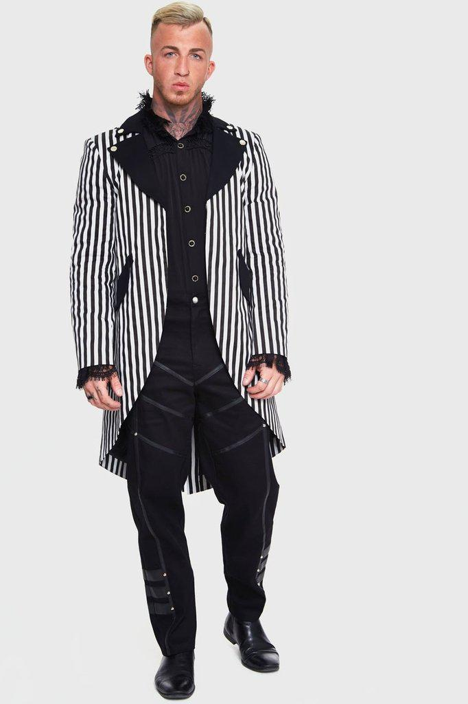 Freakshow Coat-Jawbreaker-Dark Fashion Clothing