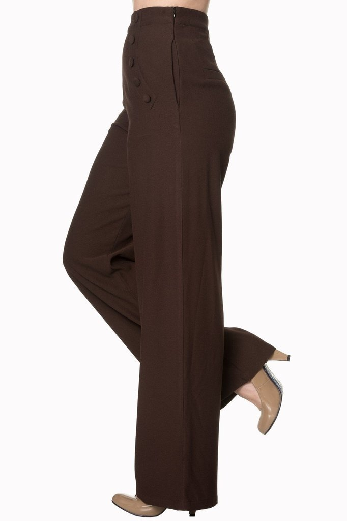 Full Moon Trousers-Banned-Dark Fashion Clothing