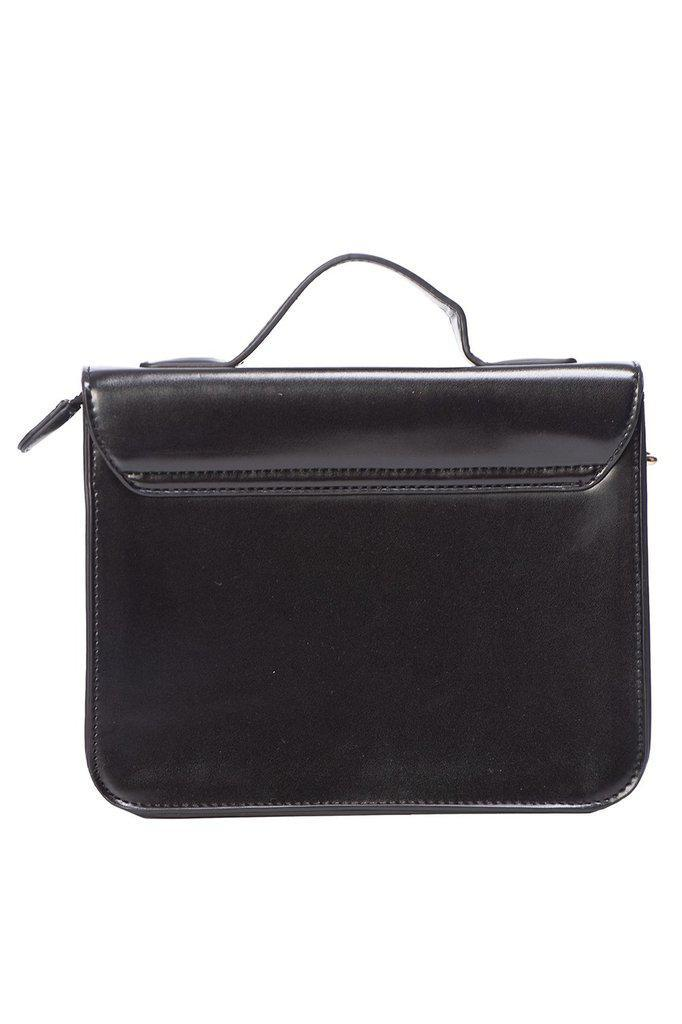 Galatee Small Messenger Bag-Banned-Dark Fashion Clothing