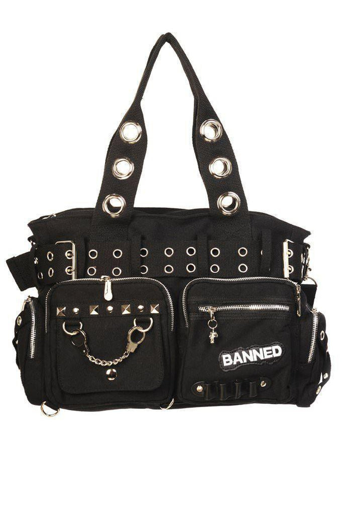 Handcuff Handbag-Banned-Dark Fashion Clothing