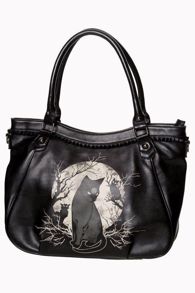 Hecate In Full Moon Bag-Banned-Dark Fashion Clothing