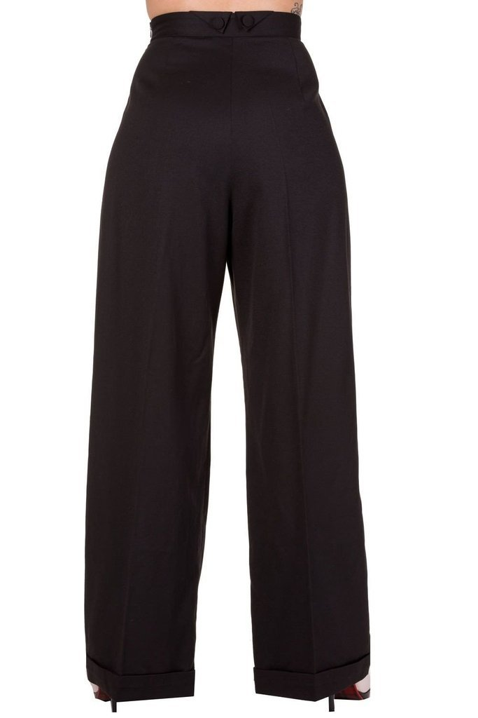 Hidden Away Trousers-Banned-Dark Fashion Clothing