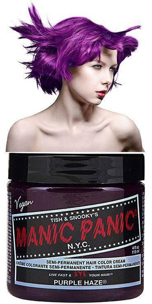 High Voltage Semi-Permanent Hair Dye Purple Haze