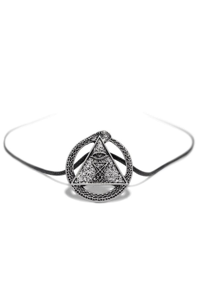 Illuminati Sigil of Lucifer Pendant and Necklace - Adaline