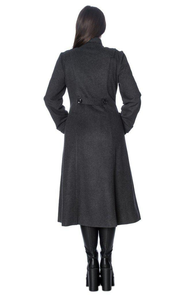 Industrial Coat-Banned-Dark Fashion Clothing