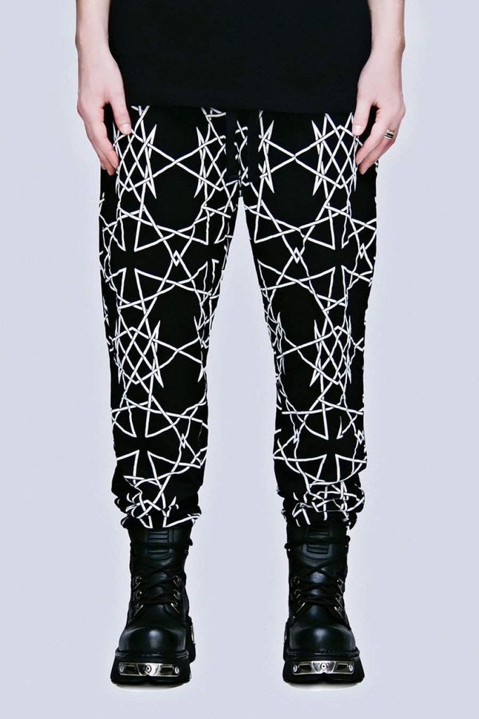 Infinity Joggers - Unisex-Long Clothing-Dark Fashion Clothing