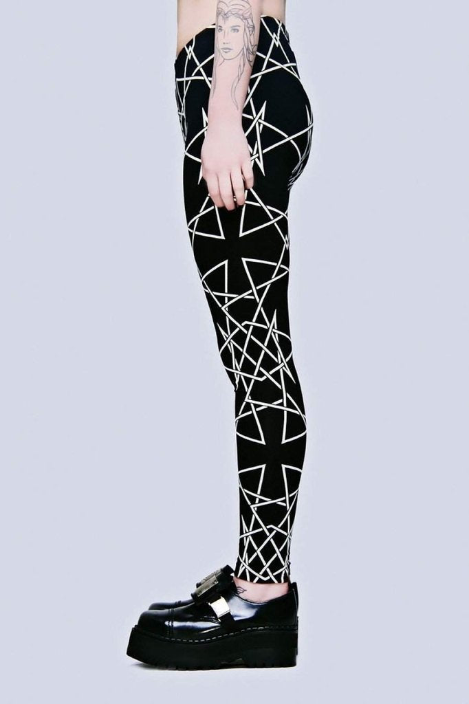 Infinity Leggings-Long Clothing-Dark Fashion Clothing