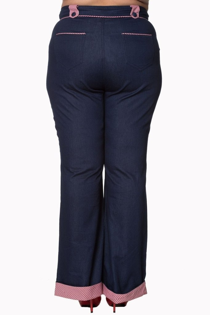 Jadore Plus Size Trousers-Banned-Dark Fashion Clothing