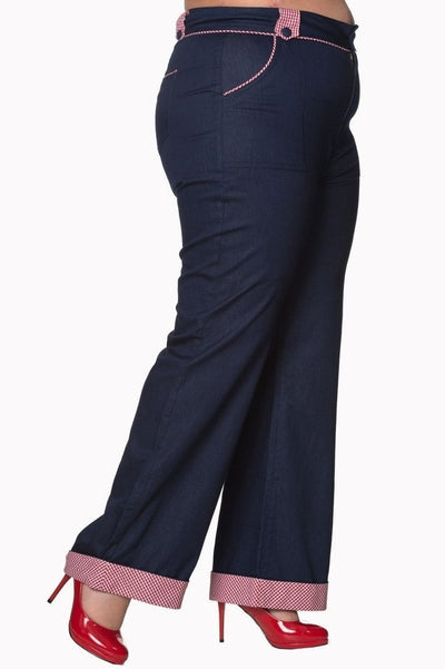 7d09a2d8945b9 Banned Jadore Plus Size Trousers - Dark Fashion Clothing