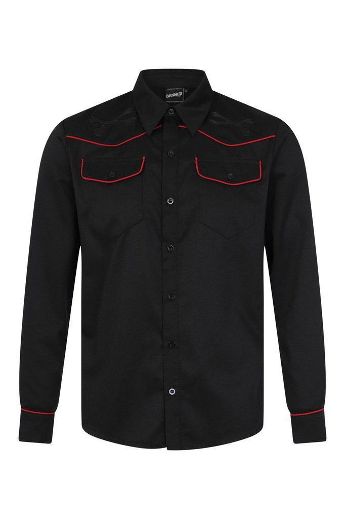 Joel Shirt-Banned-Dark Fashion Clothing