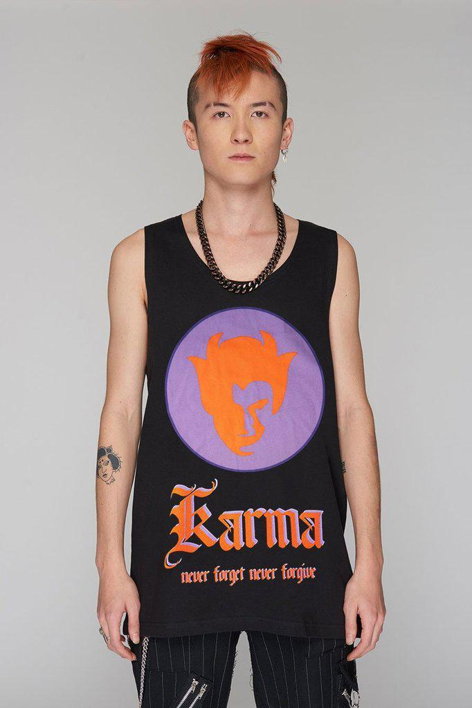 Karma Vest - Unisex-Long Clothing-Dark Fashion Clothing