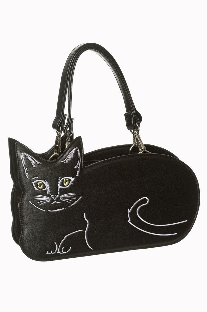 Kitty Kat Bag - 7135-Banned-Dark Fashion Clothing