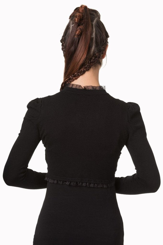 Lace Bolero-Banned-Dark Fashion Clothing