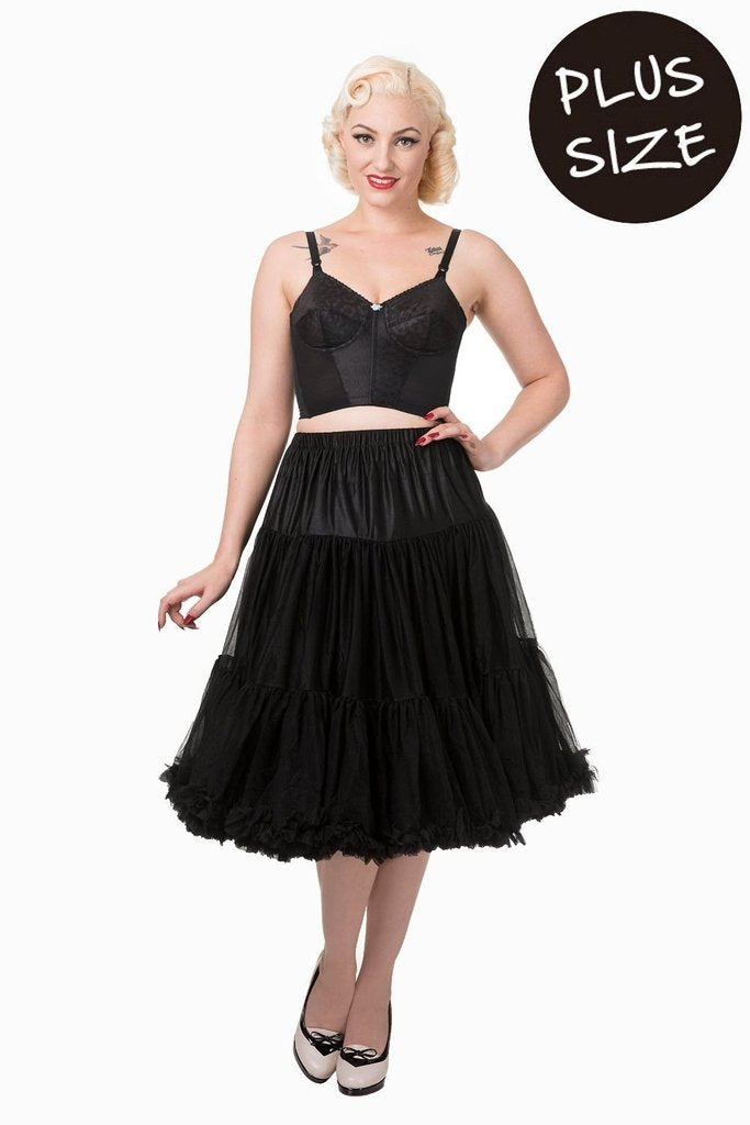 Lifeforms Plus Size Petticoat-Banned-Dark Fashion Clothing