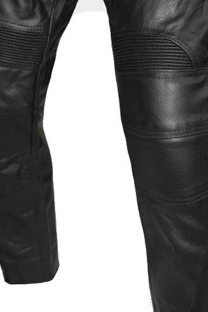 newest pretty cheap pick up Skintan Leather Limo Motorcycle Trousers - CE Armoured ...
