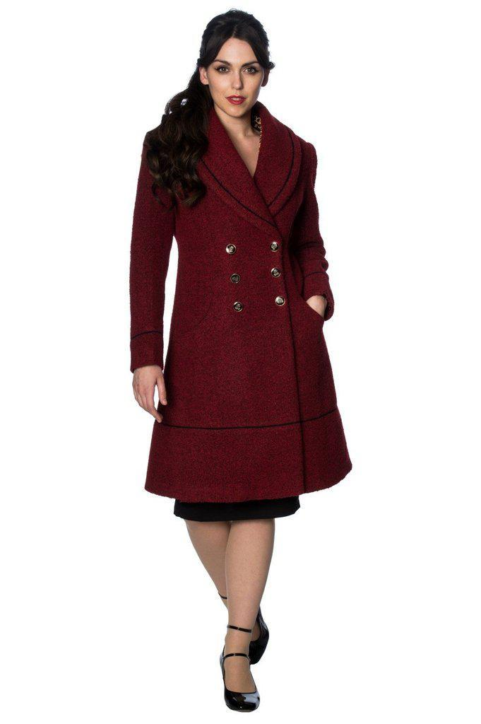 Lovely Laura Coat-Banned-Dark Fashion Clothing
